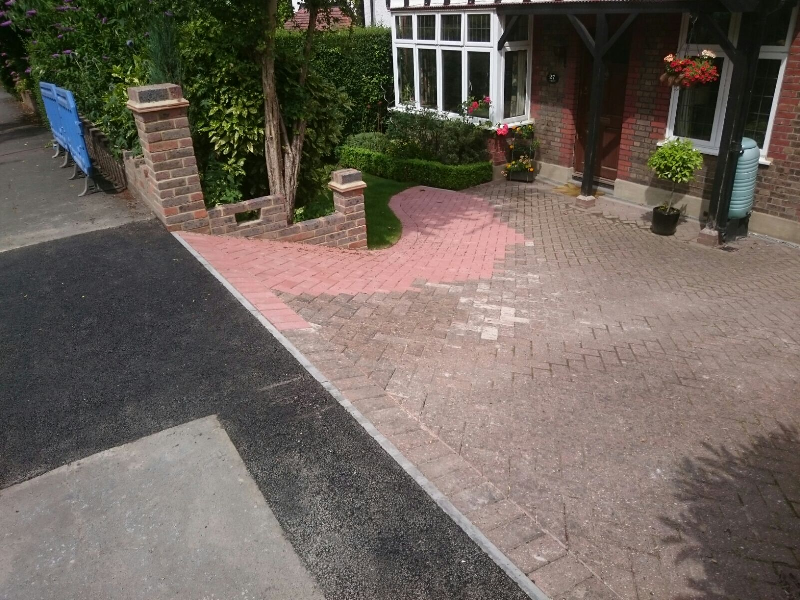 purely croydon driveway and shed base