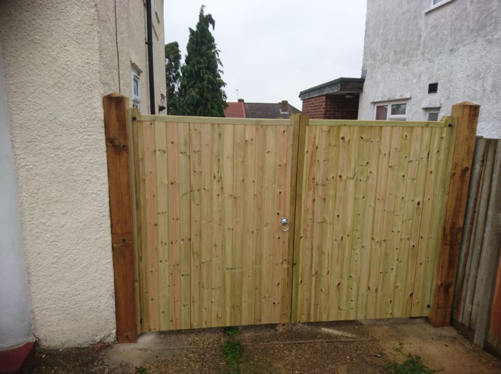 Double Gates installed Bromley